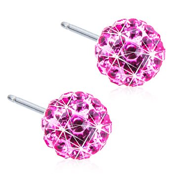 Crystal Ball rose 6mm