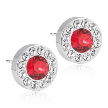 Brilliance Halo Crystal/Scarlet 8mm