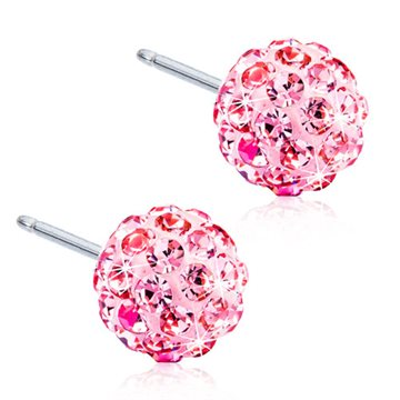 Crystal Ball Light Rose 6mm