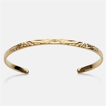 Maanesten - Emilia Bangle 18kt Forgyldt