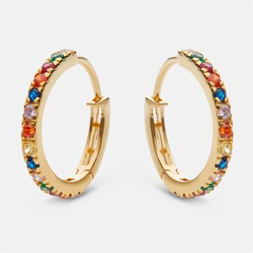 Maanesten - Nubia Big Color 18kt Forgyldt 18mm