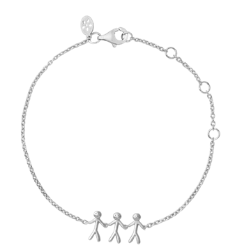 ByBiehl - Together Family 3 bracelet sterling sølv