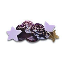 Maanesten - Shimmer Hairclip Purple