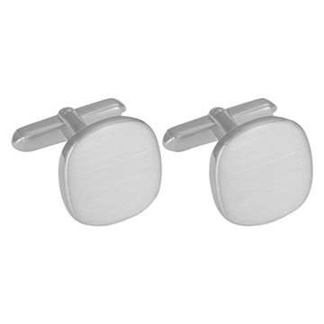 SON of NOA -  Rhd. Silver Cuff Links Brushed