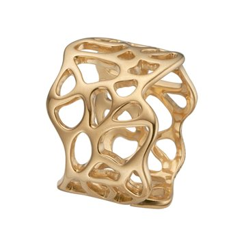 Christina Jewelry & Watches - Nature of light Ring - forgyldt sølv 800-5.5.B