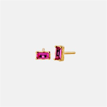 Maanesten  - Vanora Light Pink Earring 18kt Forgyldt