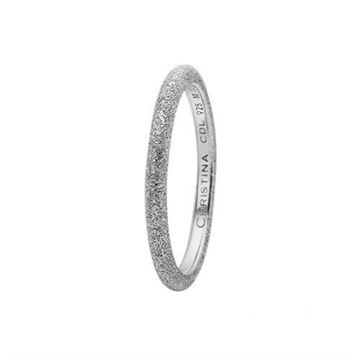 Christina Jewelry & Watches - Diamond Dust ring - sølv 800-0.5.A