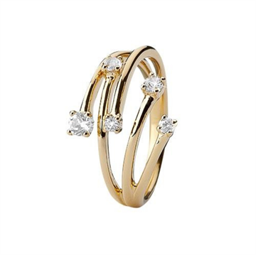 Christina Jewelry & Watches - Your Choice Ring - forgyldt sølv 800-3.16.B