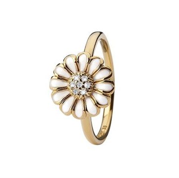 Christina Jewelry & Watches - Topaz Marguerite Ring - forgyldt sølv 800-3.19.B