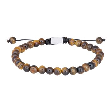 NOA - Bracelet Shiny yellow tiger eye 19-25cm