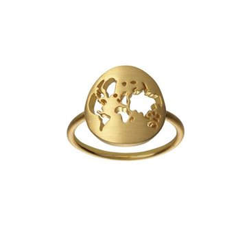 ByBiehl - Beautiful World Ring 14k Forgyldt