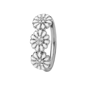 Christina Jewelry & Watches - Marguerite Love Ring - sølv 800-4.4.A