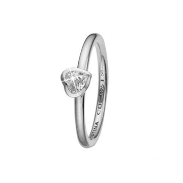 Christina Jewelry & Watches - Promise ring - sølv m/ topas 800-2.14.A