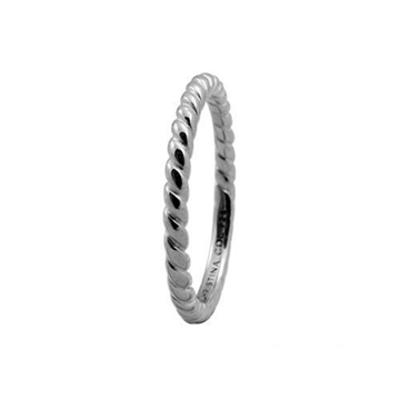 Christina Jewelry & Watches - Rope ring - sølv 800-0.1.A