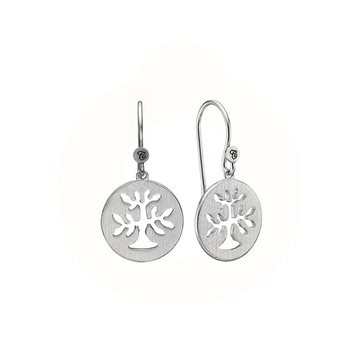 Christina Jewelry & Watches - Plant a Tree ørehængere - sølv 670-S33