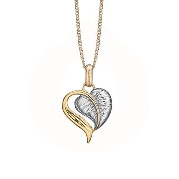 Christina Jewelry & Watches - Leaf of Love Vedhæng - forgyldt 680-G74
