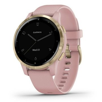 Garmin - Vivoactive 4S Dust Rose/ Light Gold