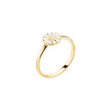 Lund - Marguerit Ring 7,5mm 24kt Forgyldt