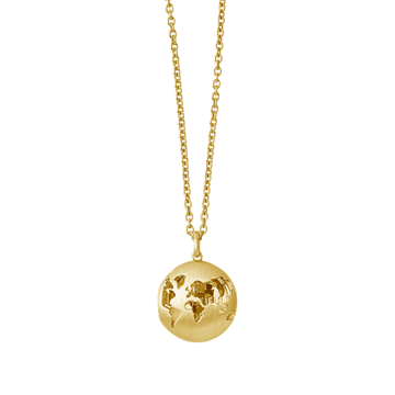 ByBiehl - Beautiful World locket 14kt Forgyldt