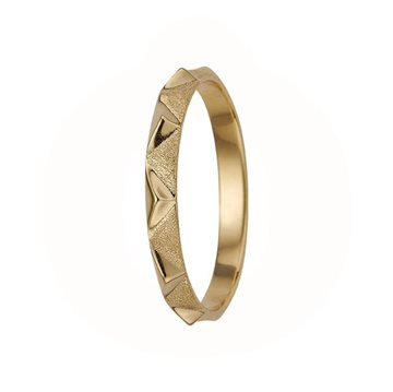 Christina Jewelry & Watches - Mountains Ring - forgyldt sølv 800-1.14.B