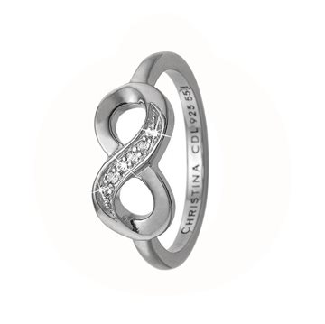 Christina Jewelry & Watches - Eternity Ring - Sølv 800-2.20.A