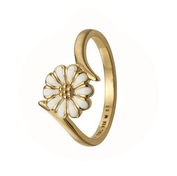 Christina Jewelry & Watches - Marguerite Power Ring - forgyldt sølv 800-2.22.B