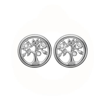 Christina Jewelry & Watches - Tree Of Life ørestikker - sølv 671-S58