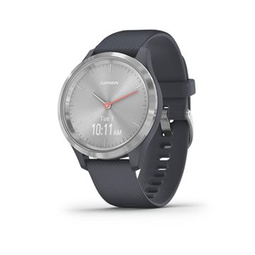 Garmin - Vivomove 3S Silver/Blue