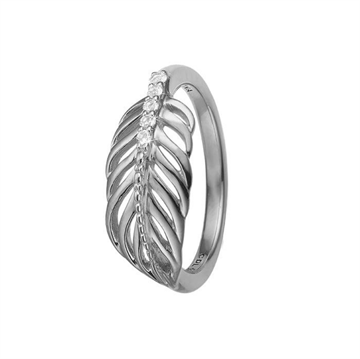Christina Jewelry & Watches - Feather Ring - sølv 800-2.15.A