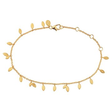 ByBiehl - Jungle Vine Bracelet 14kt Forgyldt