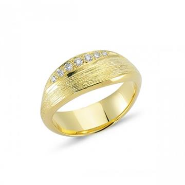 Nuran - 14kt Nature ring m 0,12ct