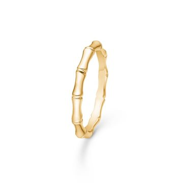 Mads Ziegler - Poetry Ring Bamboo 14kt Rødguld