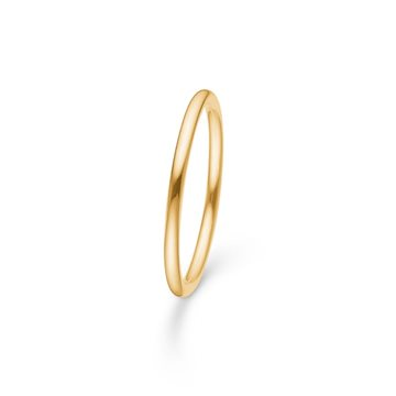 Mads Ziegler - 14kt Poetry Plain Ring