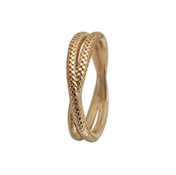 Christina Jewelry & Watches - Twin Snake ring - forgyldt sølv 800-1.11.B